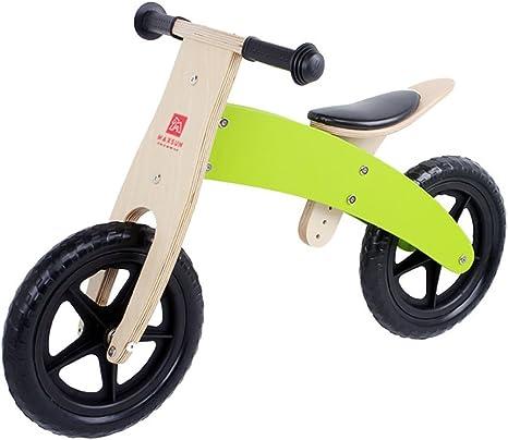 MAZHONG Bicicletas Coche de Equilibrio del Niño de Madera, Vespa ...