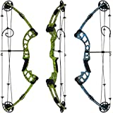 "KINGFISHER Bowfishing Compound Bow: LIMBS MADE IN USA | Fully adjustable 26-31"" Draw 30-60 LB pull 