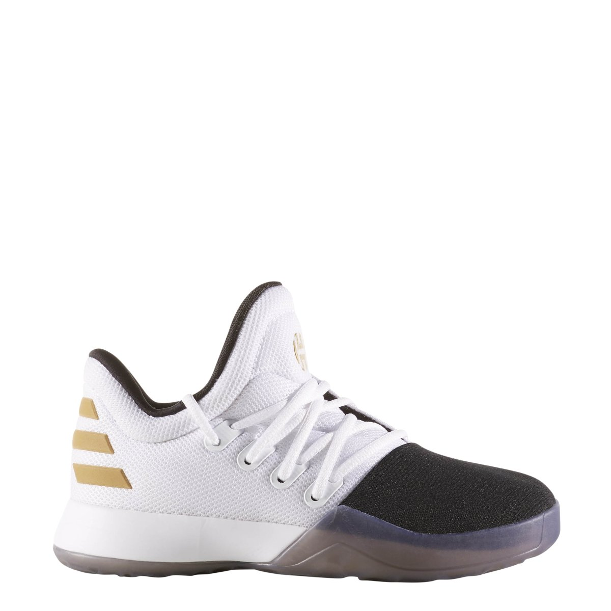 713adf1bff161 Galleon - Adidas Kids Unisex Harden Vol. 1 (Little Kid) White/Black ...