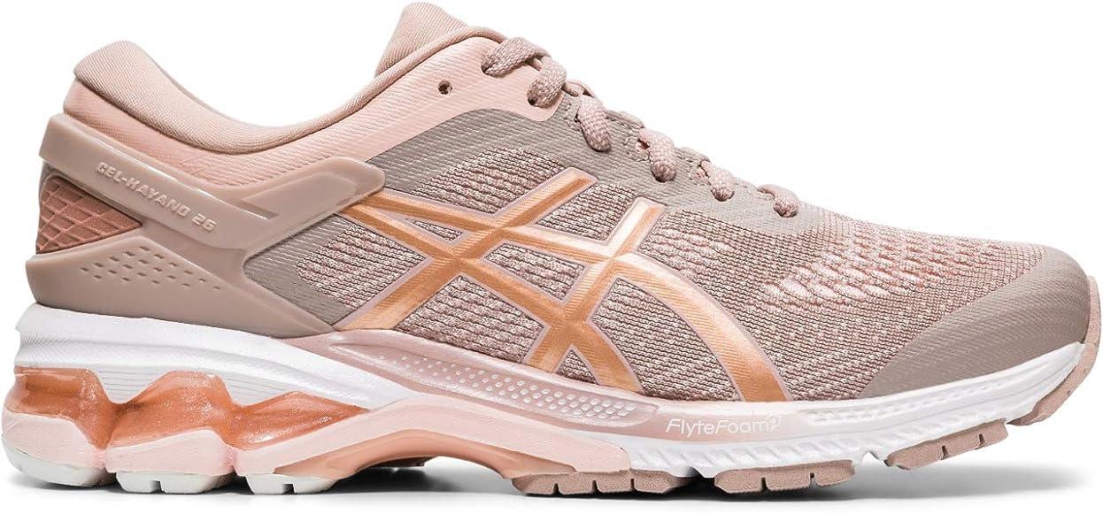 Asics Gel-Kayano 26, Running Shoe para Mujer, Cervatillo/Oro Rosa, 42.5 EU: Amazon.es: Zapatos y complementos