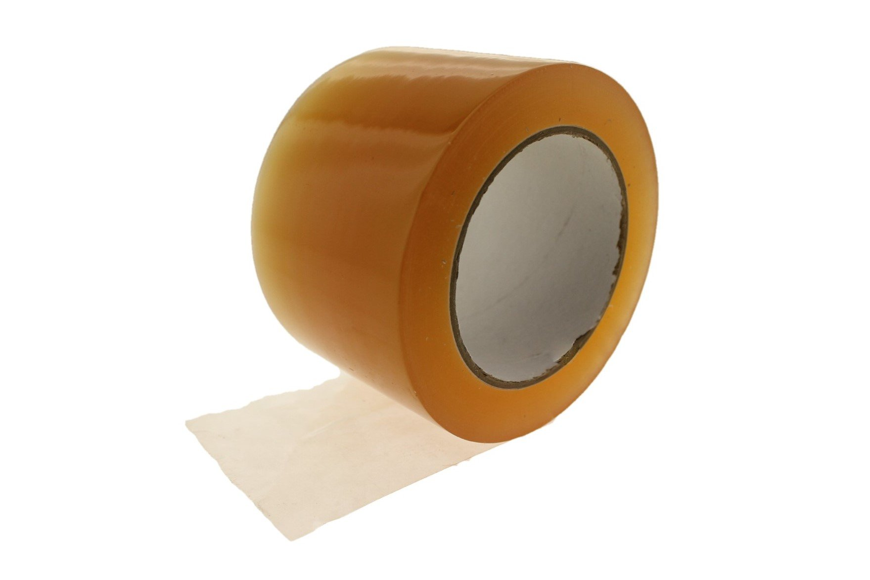 3'' Clear Amber Vinyl Tape PVC Electrical Sealing Floor OSHA Safety Marking Natural Rubber Adhesive (2.83 in 72MM) 36 Yard 7 mil
