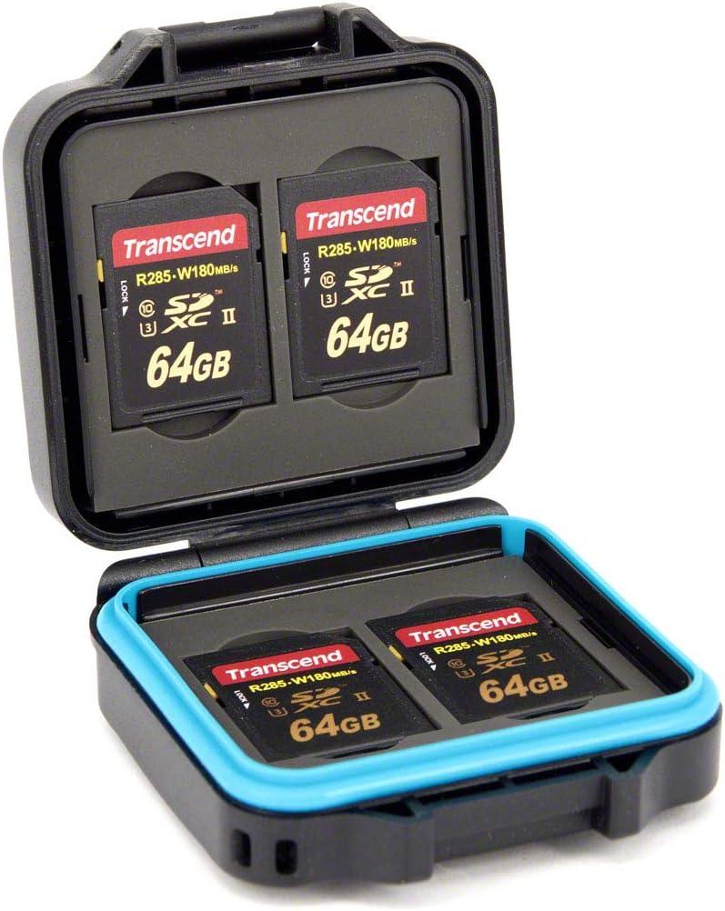 Pixel Peeper Tuff - Funda para Tarjetas de Memoria (4 Tarjetas SD y 4 Tarjetas microSD o SIM): Amazon.es: Electrónica