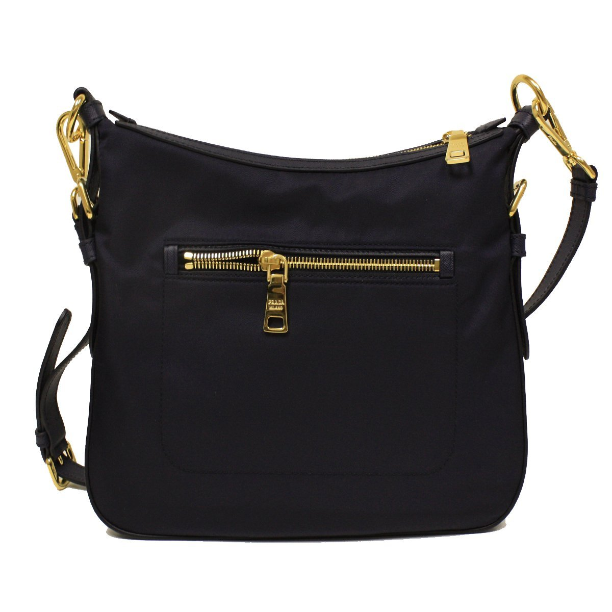 Prada BT0706 Navy Blue Tessuto Saffian Nylon and Leather Crossbody  Messenger Bag  Amazon.co.uk  Shoes   Bags 42692822d1664