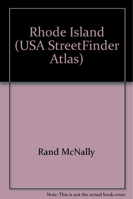Rand McNally Streetfinder Rhode Island Atlas