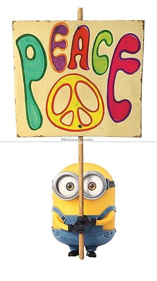 Amazon.com: 10 Inch Peace Sign Brother Bob Minion Despicable Me ...