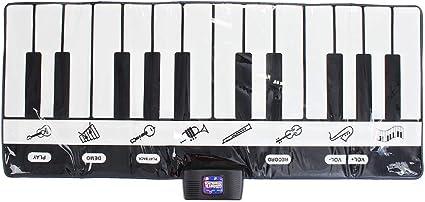 HYRL Niños Piano Teclado Manta, 24 Teclas Teclado Musical Mat ...