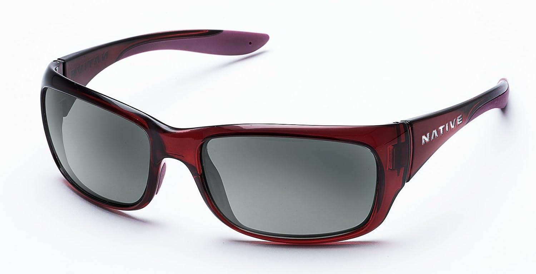 16017b1cb6 Amazon.com  Native Eyewear Unisex Kannah Crimson Gray  Sports   Outdoors