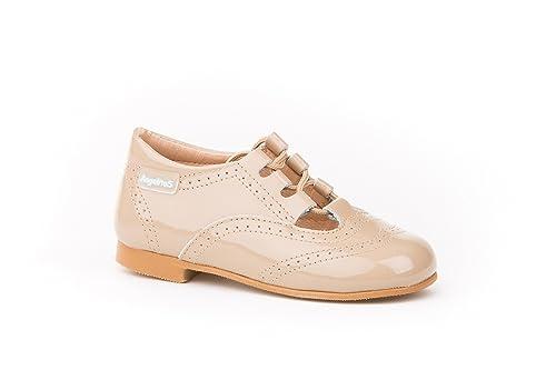c020cd2e Zapatos Inglesitos Charol para Niños Todo Piel Mod.1506. Calzado Infantil  Made in Spain, Garantia de Calidad.: Amazon.es: Zapatos y complementos