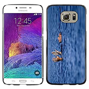 Be Good Phone Accessory // Dura Cáscara cubierta Protectora Caso Carcasa Funda de Protección para Samsung Galaxy S6 SM-G920 // sleeping swiming