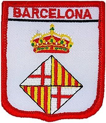 Parche bordado de escudo de la bandera del condado de España ...