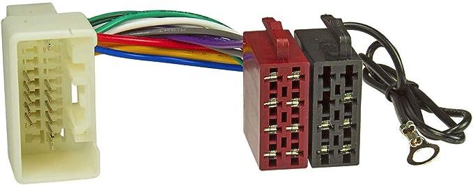 tomzz Audio 7037-003 - Cable adaptador de radio para Mitsubishi Pajero Outlander ASX a partir de 2007 a 16 polos ISO