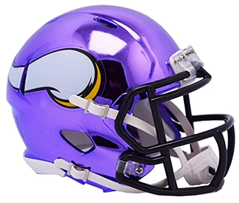 7a58beb16cf Image Unavailable. Image not available for. Color  Riddell MINNESOTA  VIKINGS NFL Revolution SPEED Mini Football Helmet