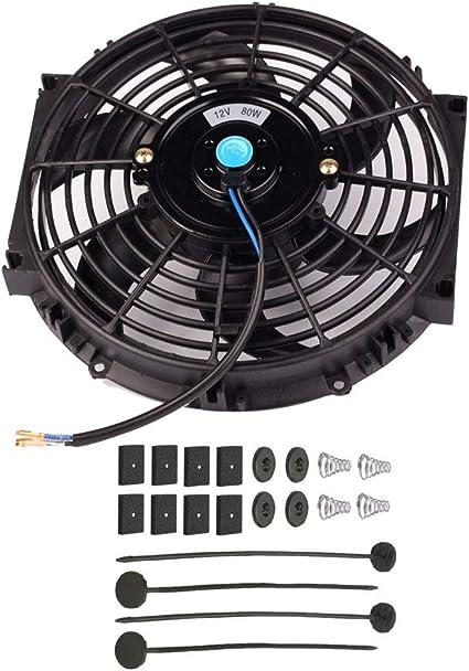 RONSHIN Kit Universal de Ventilador de refrigeración para Coche ...