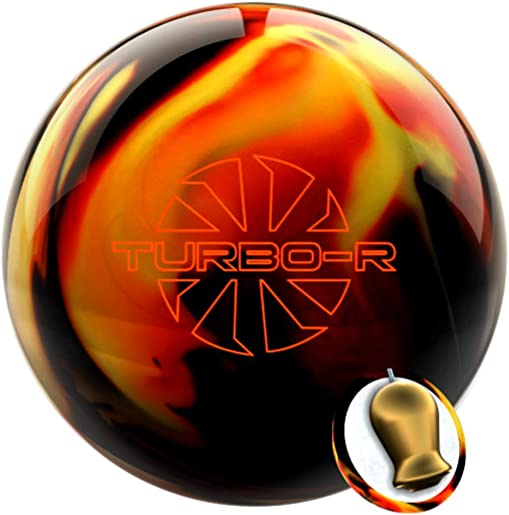 Ebonite Turbo R Black Copper Yellow Bowling Ball