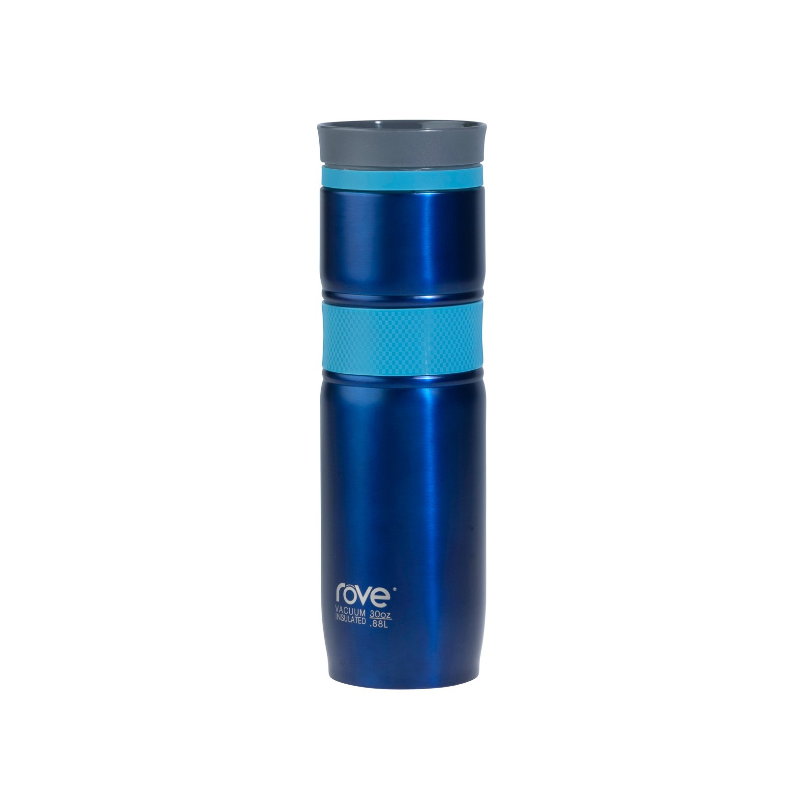 30oz Double Wall Stainless Steel Vacuum Flask With 360 sipping - Montenegro 1 (Blue)