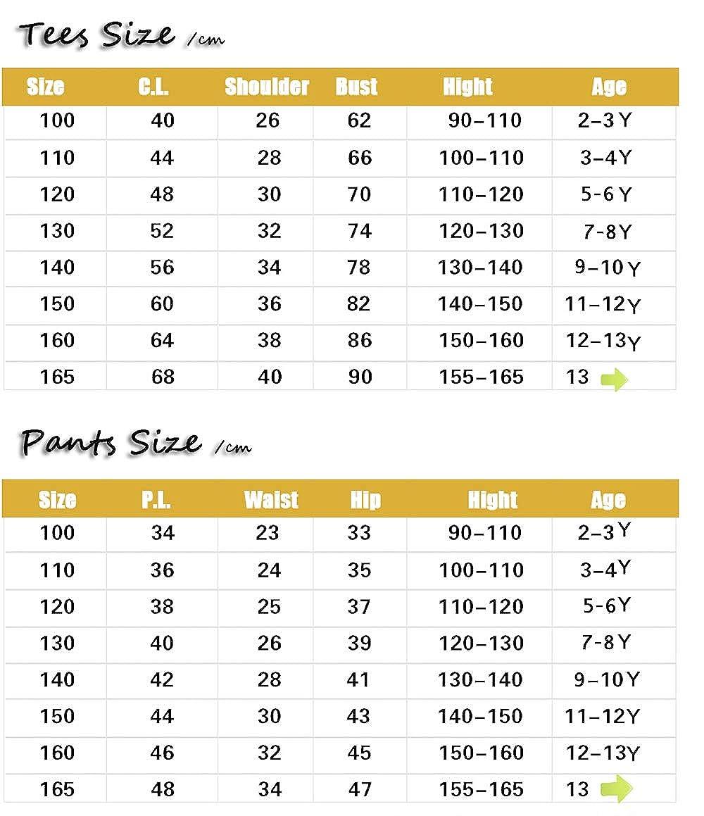 Big Boys Short Sleeve Set 2Pcs 3-14Years