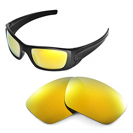 a9db4ffcba Walleva Replacement Lenses for Oakley Fuel Cell Sunglasses-Multiple Options  Available (24K Gold Mirror