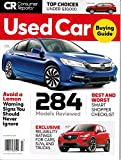 Consumer Reports Used Car Buying Guide July 2018
