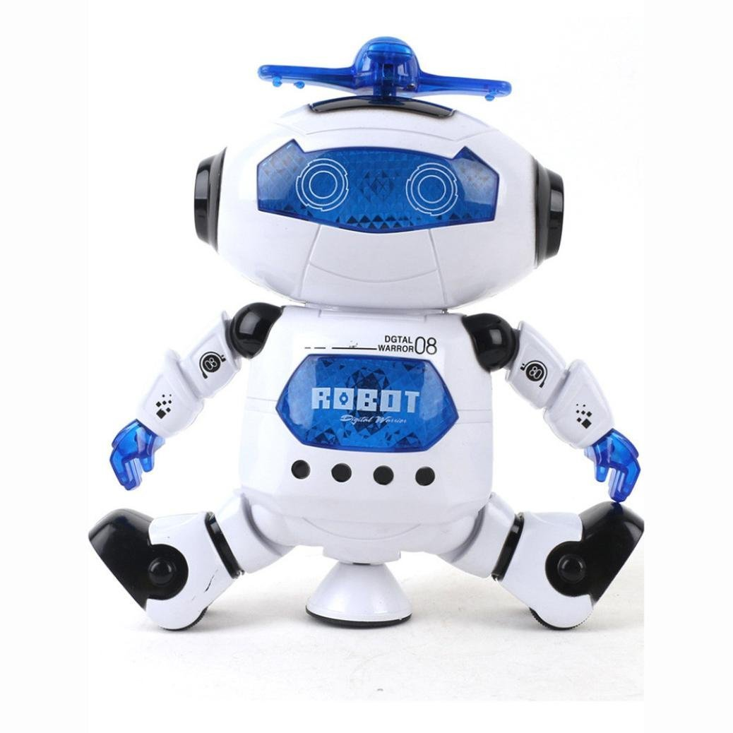 UKnows Smart Space Robot Electronic Walking Dancing Astronaut Kids Music Light Toys by UKnows (Image #2)