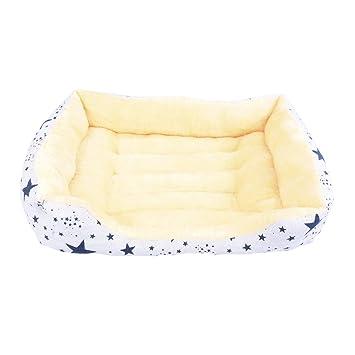 ¡OFERTA! Cama para perro y gato ESTRELLAS AZULES V 75*55cm.: Amazon.es: Hogar