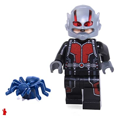 LEGO Marvel Superheros Ant Man Loose Minifigure Scott Lang Avengers: Toys & Games