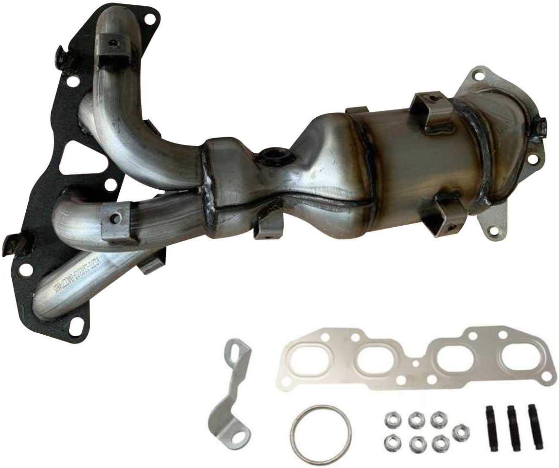 AutoShack EMCC774991 Exhaust Manifold with Catalytic Converter