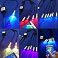 12V 1.5W APP Bluetooth WIFI Phone Control RGB Atmosphere LED Light Source Engine illuminator For Side Glow Optic Fiber