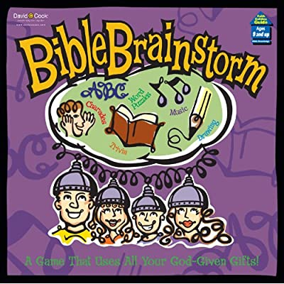 Bible Brainstorm. A Game That Uses All Your God-Given Gifts (2001): David C Cook: Toys & Games