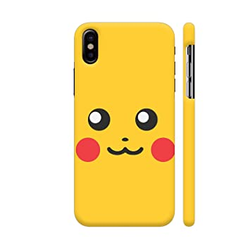sports shoes cc6c0 f9dc2 Colorpur Pokemon Go Pikachu On Yellow Printed Back Case: Amazon.in ...