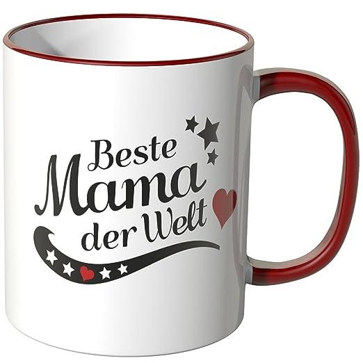Tasse beste Mama der Welt in 12 Farben