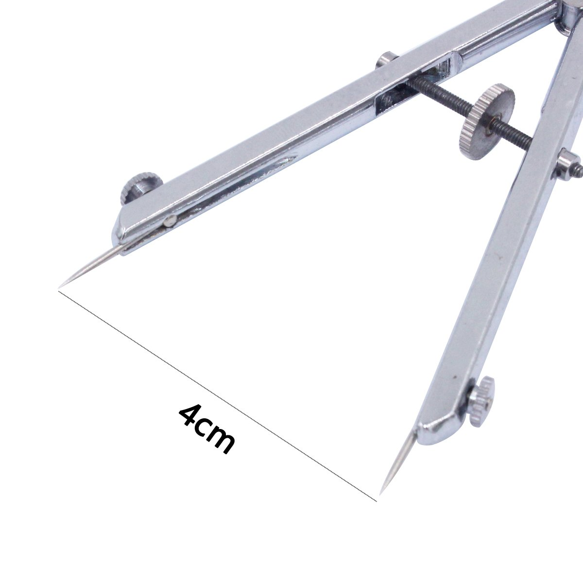 PHYHOO Jewelry Tool Spring Divider Dividers Protractor