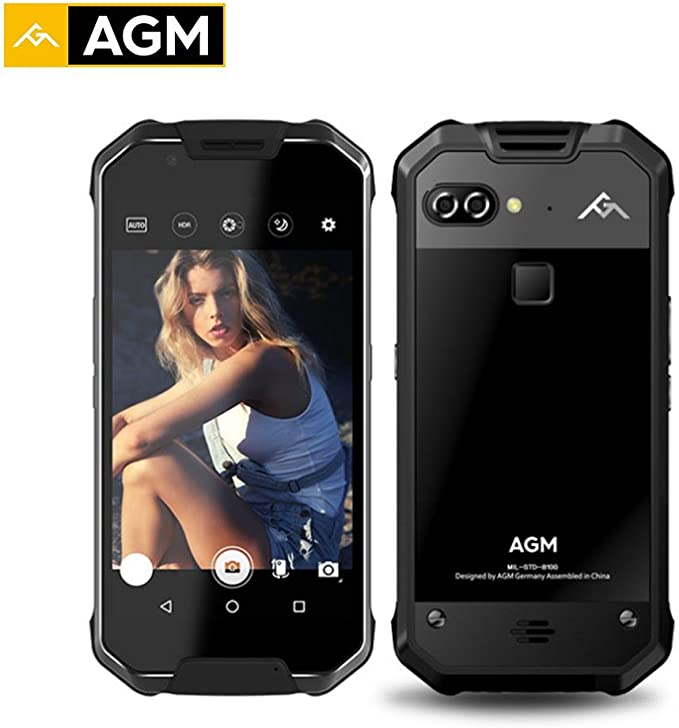 CatcherMy AGM X2 IP68 Impermeable Phone 5.5fhd 6 GB RAM 128 GB ROM ...