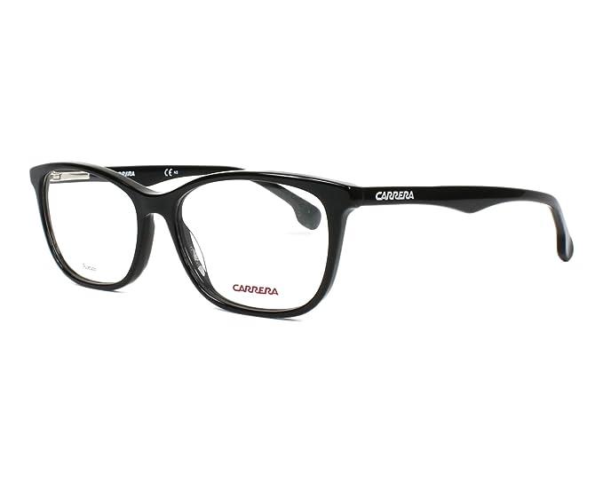 90e935fb6492a Carrera Montura de gafas - para mujer Negro Negro 54  Amazon.es  Ropa y  accesorios