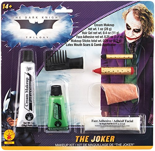 Cartoon Based Halloween Costumes (Batman The Dark Knight Joker Deluxe Makeup Kit)