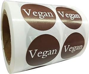 Vegan Stickers Food Rotation Labels 1