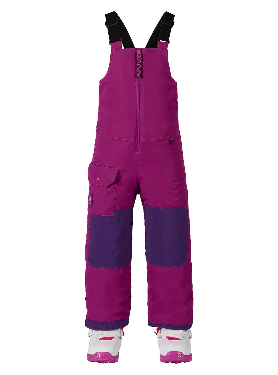 Burton Boys Minishred Maven Bib Pants, Grapeseed, 3T 130521