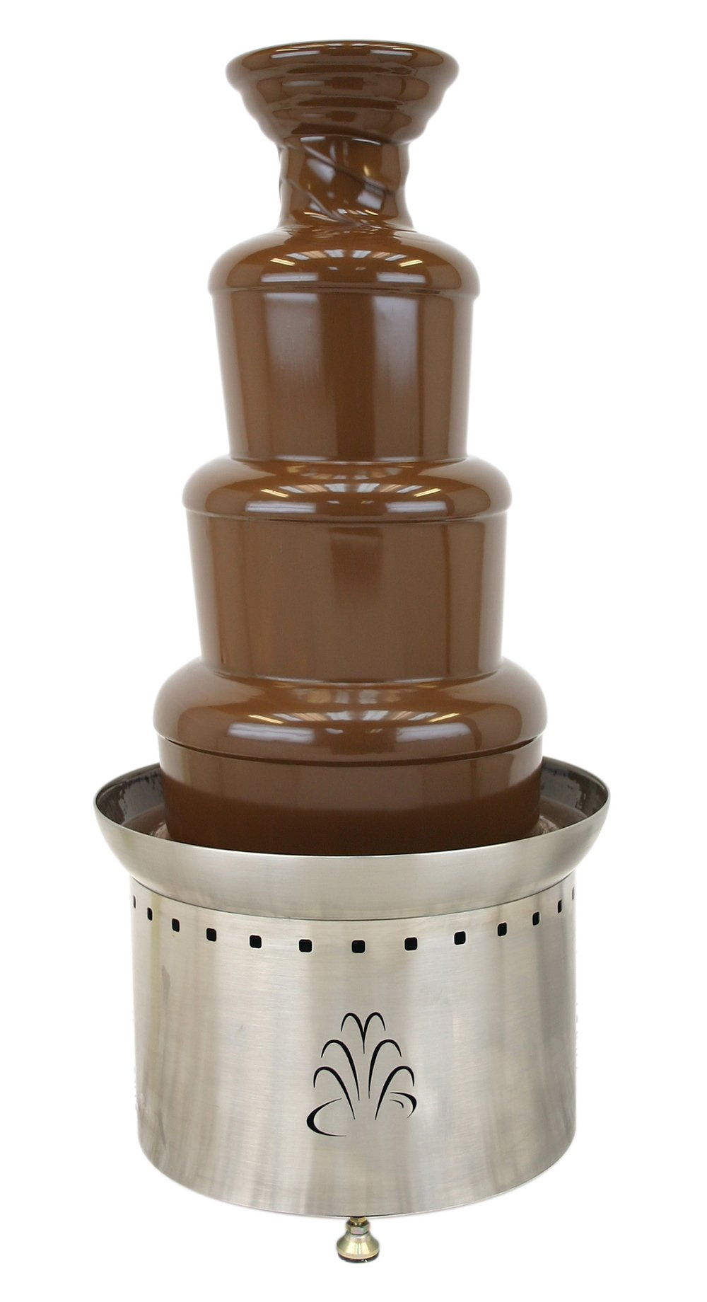 Buffet Enhancements Stainless Steel 3 Tier 35 Inch Chocolate Fountain