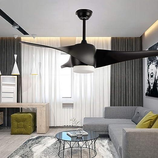 Control remoto LED luz de ventilador de techo, lámpara de ...