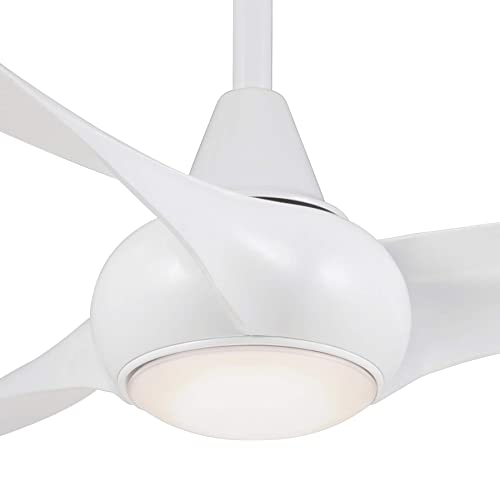 52 Minka Aire Light Wave White Ceiling Fan with Remote Control