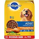 Pedigree Complete Nutrition Adult Dry Dog Food Roasted Chicken, Rice & Vegetable Flavor, 33 Lb. Bag Larger Image