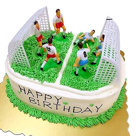 STOBOK 8pcs Decoraciones de moldes de Pastel de cumpleaños ...