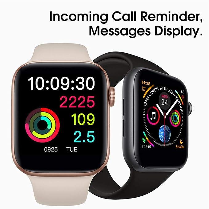 Amazon.com: Smart Watch Bluetooth W54 con pantalla táctil ...