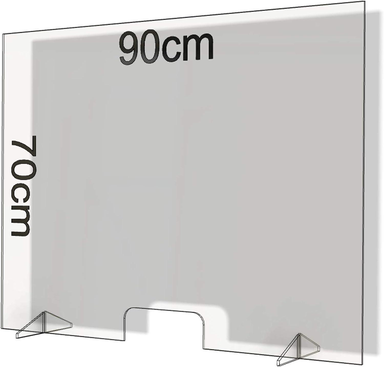 Mamparas de Protección, Escudo de Acrílico Transparente Plexiglass ...