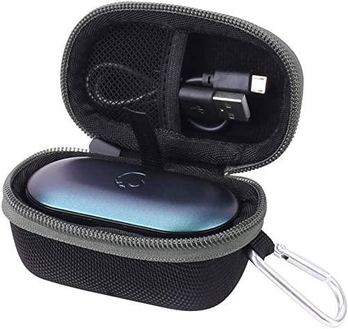 Aenllosi Hard Carrying Case for Skullcandy Push True Wireless Earbuds