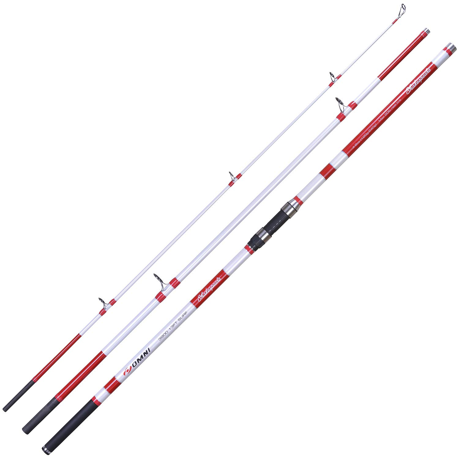 15ft 3pc Sonik Vader XS Shore Rods Beachcaster Surf Sea Fishing Rod NEW 2019