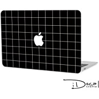 Black Grid Macbook Skin Macbook Sticker Macbook Decal Macbook Air Skin Macbook Pro Skin Macbook Air Sticker Macbook Pro Sticker