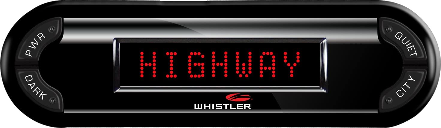 Whistler PRO-3700 High Performance Laser Radar Detector: 360 Degree Protection and Voice Alerts
