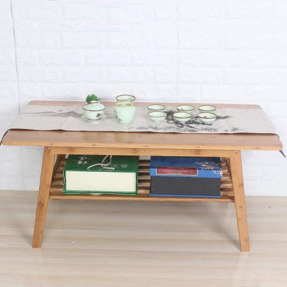 ZHAOXIANGXIANG Chemin De Table,Style Chinois Gris Bambou Moderne Simple Chemin De Table en PVC Th/é Drapeau Table Bar Table Basse Drapeau Napperon Chemin De Table 30X100