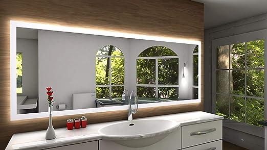 Badspiegel Designo Sete Mit A Led Beleuchtung B 160 Cm X H