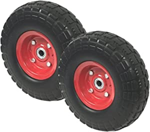 UI PRO TOOLS 2 New10 Flat Free Tires Wheels with 5/8